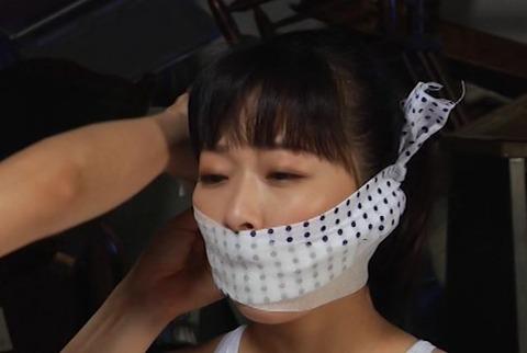 女流緊縛師・蓬莱かすみさんによるレズ緊縛動画