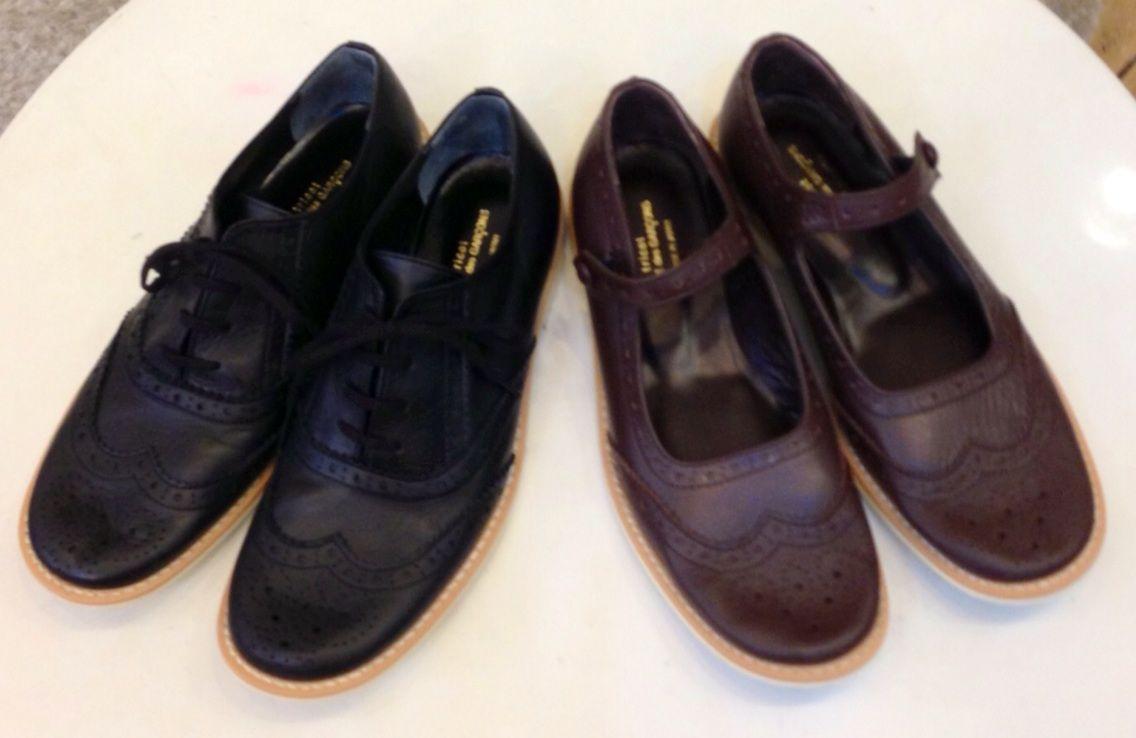 ギャルソンの靴は、とっても履きやすく長持ちします