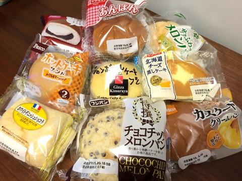 菓子パン開発者「砂糖たっぷり練乳を砂糖まぶしたパンで挟んだろ!」の画像