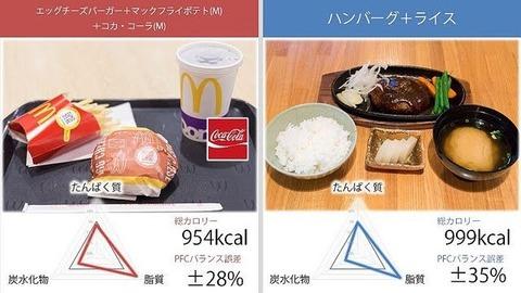 【朗報】マックのハンバーガー、栄養学的に不健康ではなかったwwwwwwwww
