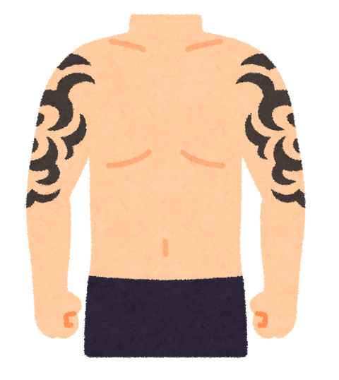 刺青って筋肉付けてからのがええんか?