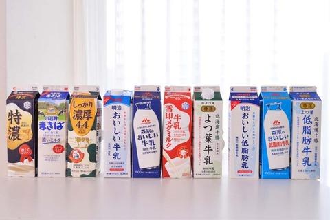 スーパーワイ「低脂肪牛乳?牛乳なんてどれも一緒やろ!安いしこれでええか!」→ 結果wwwww