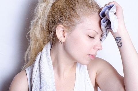 女の子が汗をかかない理由wwwwww