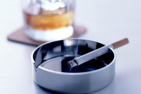 煙草と灰皿500