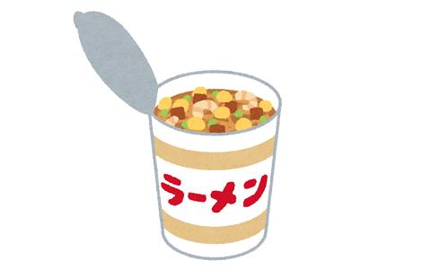 【食生活】毎日カップラーメンとサラダだけ食べてたら太る???