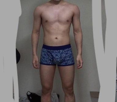 【問題】この見た目で体重何kgに見える?