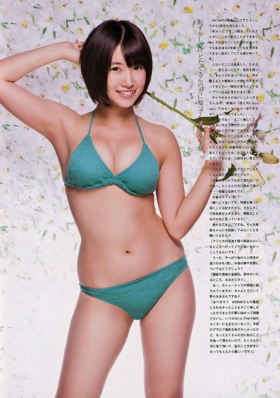 秋月三佳さんの水着