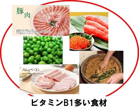 ビタミンB1多い食材2