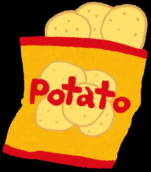 ポテトチップス割り箸で食うやつーーーーーーーー!wwwww