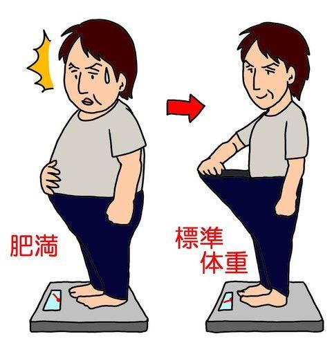 ワイデブが一週間で6kg痩せた時の生活