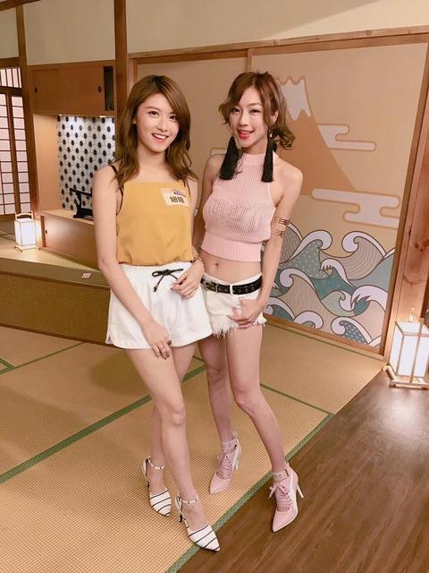 【画像】台湾の女子アナ美脚すぎないか?