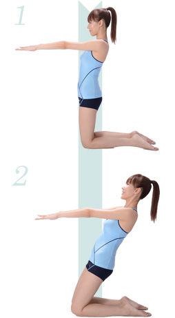 膝上のトレーニング