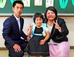 407gで産まれた金城幸花さん(6)元気に成長し10kmマラソンに参加!