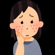 【乾燥肌】何故か顔だけ乾燥する!冬以上に乾燥してる!