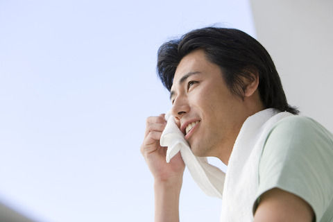 女子の4割が「汗かき男子」にNO!九州・沖縄と全国の差が歴然