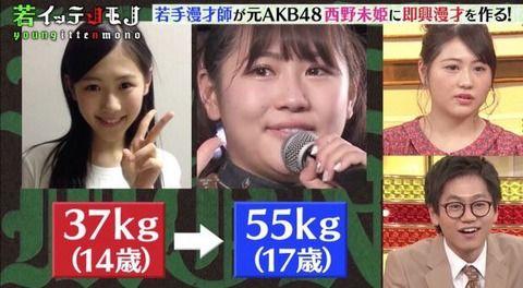 デブ女「女で55kgは普通!37kgなんて痩せすぎ!」←現実見ろよ(笑)