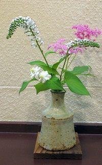 写真-2 宮崎さん活けた花
