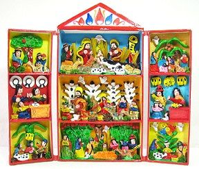 ペルー箱型祭壇
