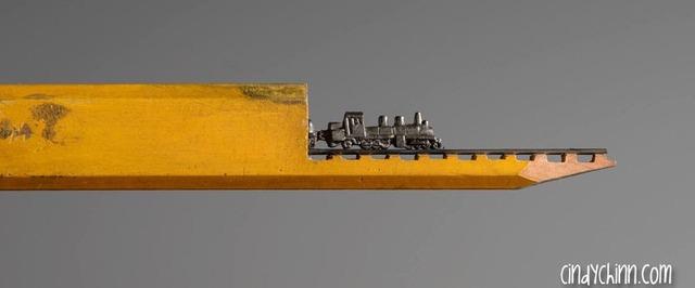 マジかよ!鉛筆から削り出された驚異のアート(画像13枚)