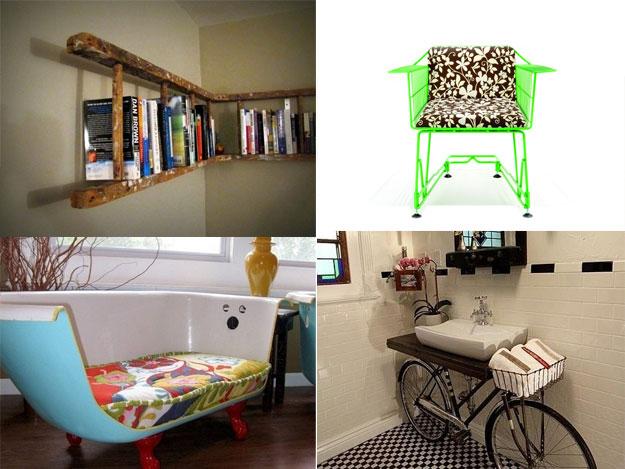 使わなくなった物で作るリサイクル家具26のアイデア