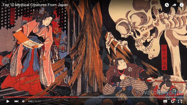 日本のお化けに海外が興味津々(海外の反応)