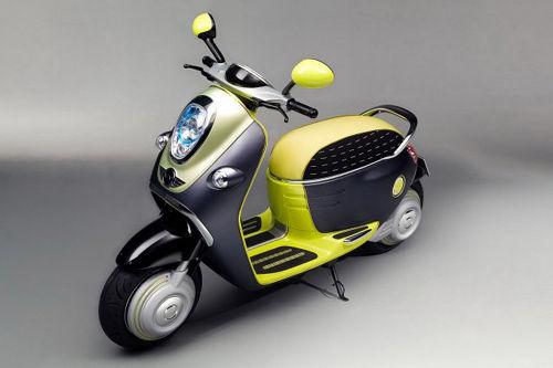 Miniのコンセプトバイク『Mini E Scooter』