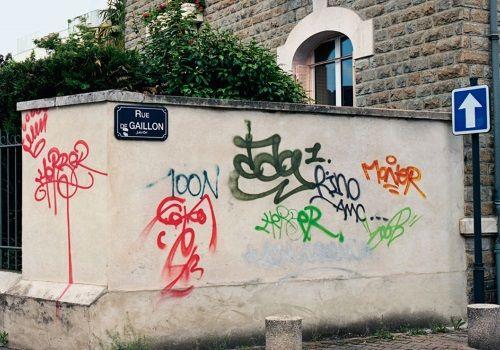スプレーの落書きがアートに変貌!しかし海外のネットでは賛否両論…