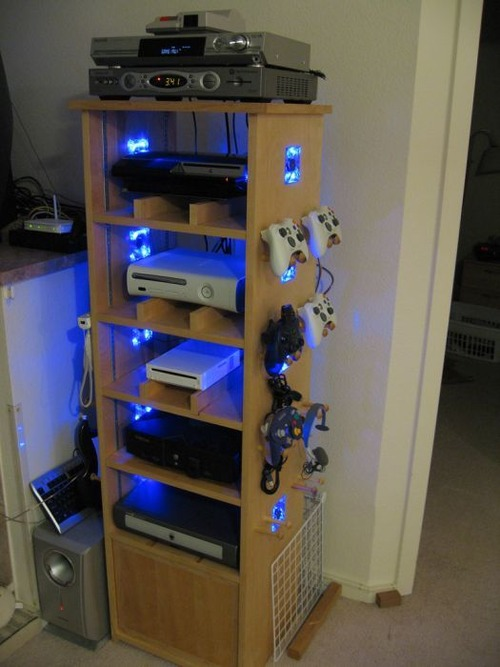 Diy 9 for Xbox schrank