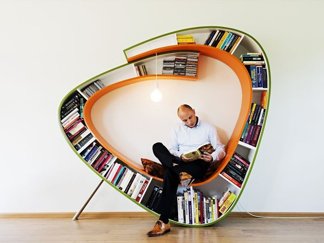 The Bookworm Bookcase