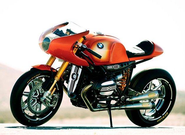 BMW、二輪部門創立90周年を記念して製作させたコンセプトバイク「Concept 90」を発表