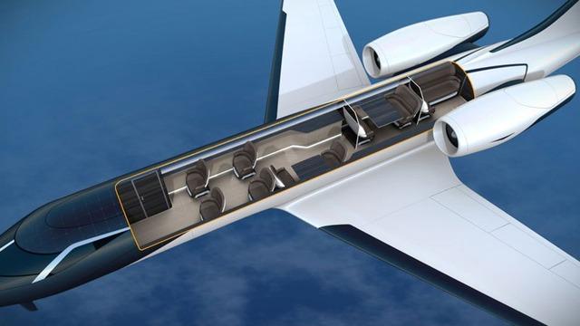 怖い飛行機の画像