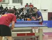 【動画】 卓球の試合で嬉しさのあまり過剰なアピールをしてみたw