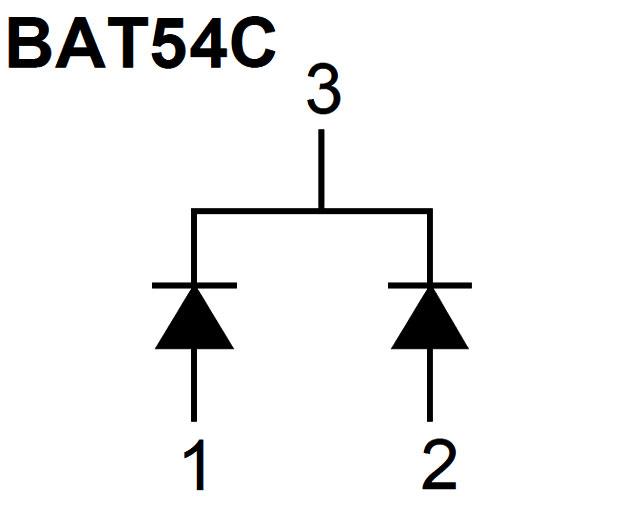 Bat54c datasheet