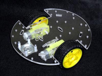 車両型ロボットベース