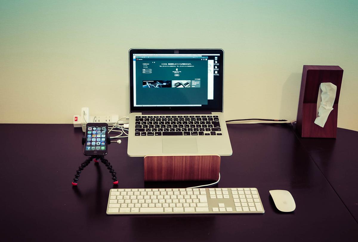 メインがMacBook Proに。
