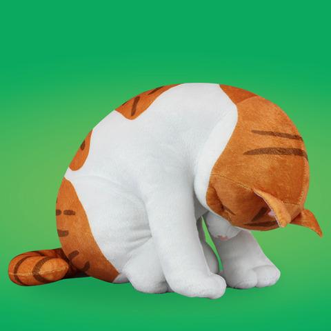 ZooZooZoo へこむわ寝~BIGぬいぐるみ ネコ~