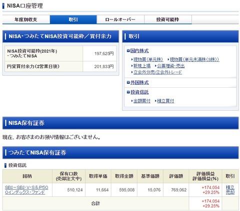 SBI証券_210630