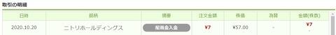 ワンタップバイ_配当_201030