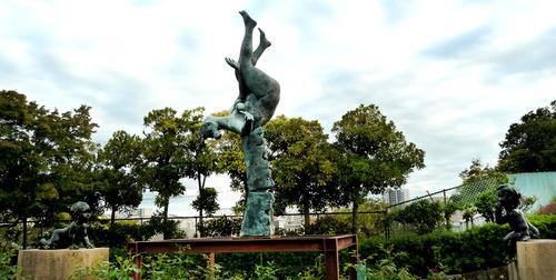 彫像 荒川自然公園21n10g18n2