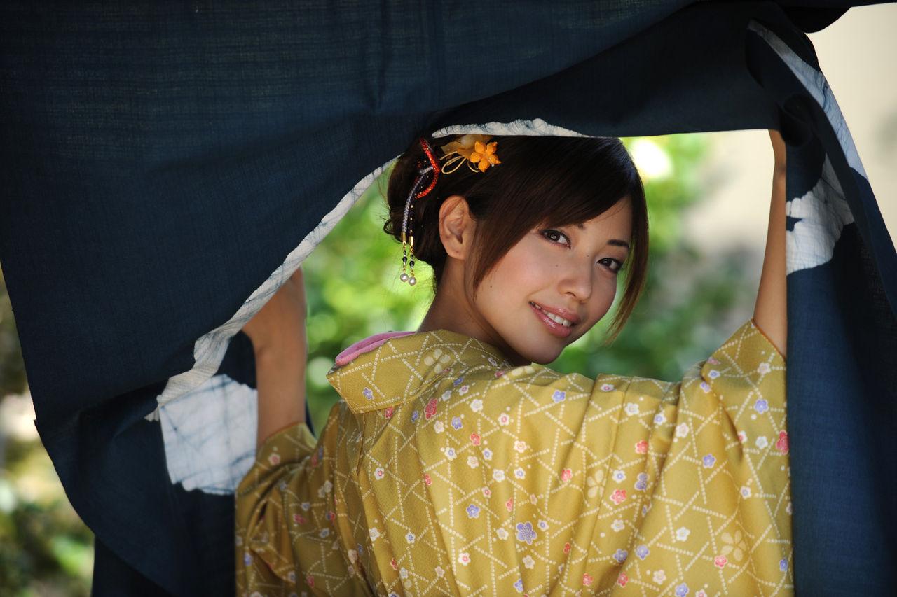 0.55世紀少年 : 魅惑の和服美人 (1)/横山美雪さん