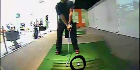 ストレート軌道にするための練習方法|ボールの位置を工夫する