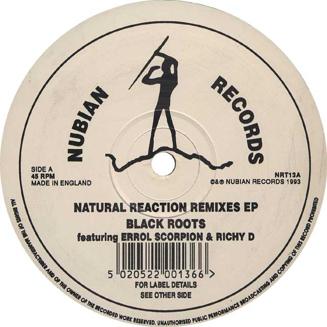 BLACK ROOTS / NATURAL REACTION REMIXES EP