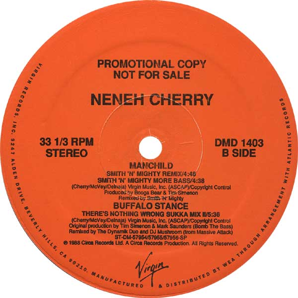 NENEH CHERRY『MANCHILD』B