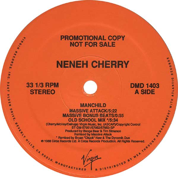 NENEH CHERRY『MANCHILD』A