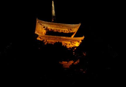 京都の何重かの塔