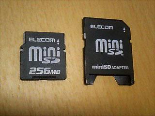 miniSD 256MB