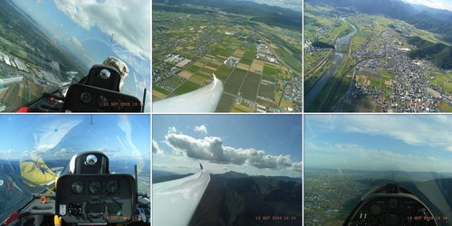 20GCの飛行写真