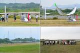 140621_大阪工大の人力飛行機試験飛行