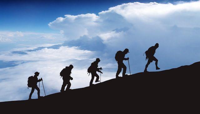 The Tednews : 登山に挑戦・・・...