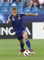 サッカーアジアカップ。